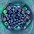 写真: 「清水港 海と光の空間」 清水港・エスパルスドリームプラザのイルミネーション Little Planet(2)-2