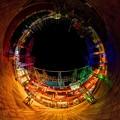 写真: 「清水港 海と光の空間」 清水港・エスパルスドリームプラザのイルミネーション Little Planet(4)-2