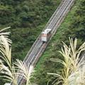 宮ケ瀬ダムのインクライン