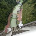 宮ヶ瀬ダムを上から覗く