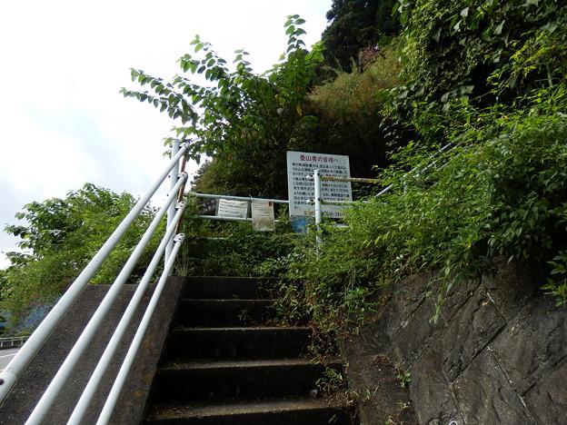 Photos: 登山道入り口