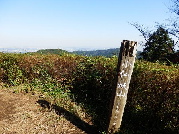 小仏城山(670m) 山頂