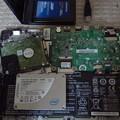 外配信用PCのインテルSSDが逝ってしまったので手持ちのA-DATA製に交換