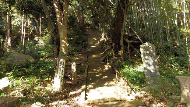 まずは八菅神社を目指して