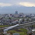 Photos: 靄連峰と