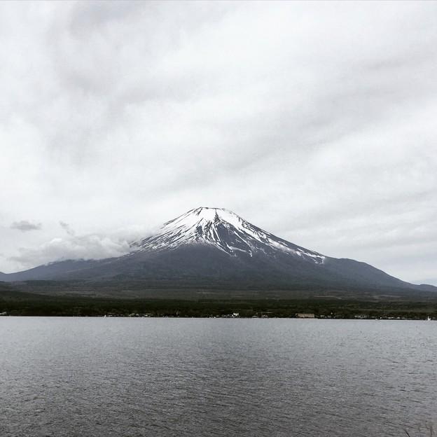 150505 山中湖からの富士山