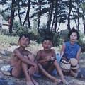 写真: 43年8月中道海岸