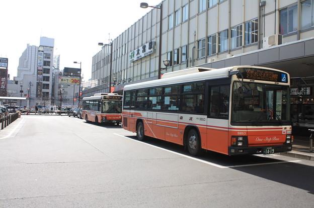東武バス 9853号車