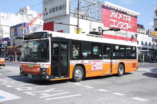 東武バス 2606号車