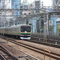 Photos: E231系1000番台U507編成 上野東京ライン開業記念ヘッドマーク (2)