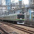 Photos: E231系1000番台U507編成 上野東京ライン開業記念ヘッドマーク (4)