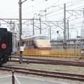D51 498と東武100系