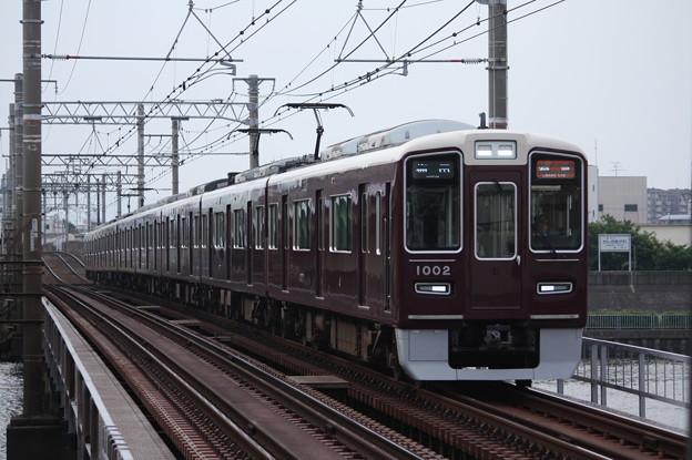 Photos: 阪急1000系1002F
