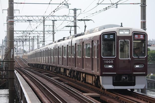 阪急1000系1005F
