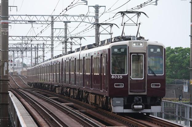 阪急8000系8035F