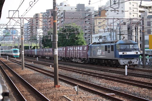 EF210-161牽引コンテナ貨物 (4)