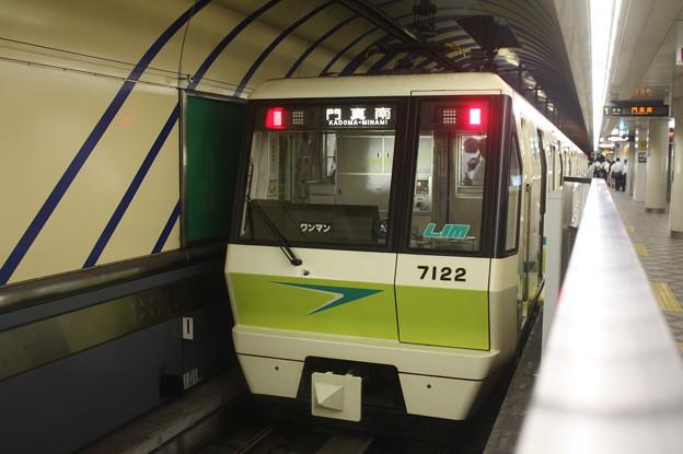 大阪市営地下鉄長堀鶴見緑地線70系7122F