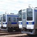 Photos: 高萩駅留置されている415系1500番台 (3)