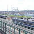 高萩駅留置されている415系1500番台 (6)