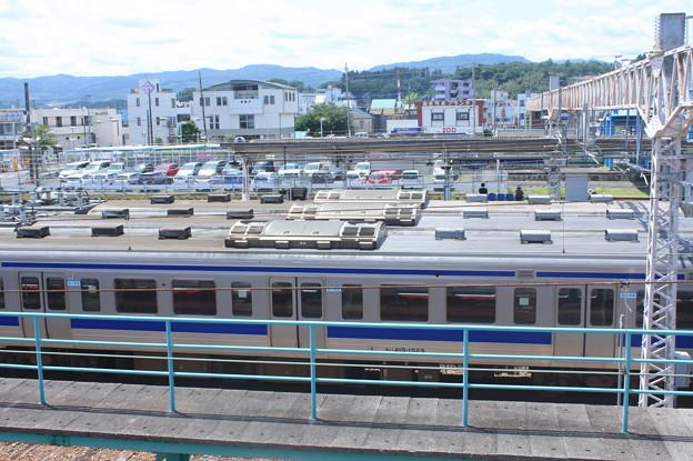 Photos: 高萩駅留置されている415系1500番台 (8)