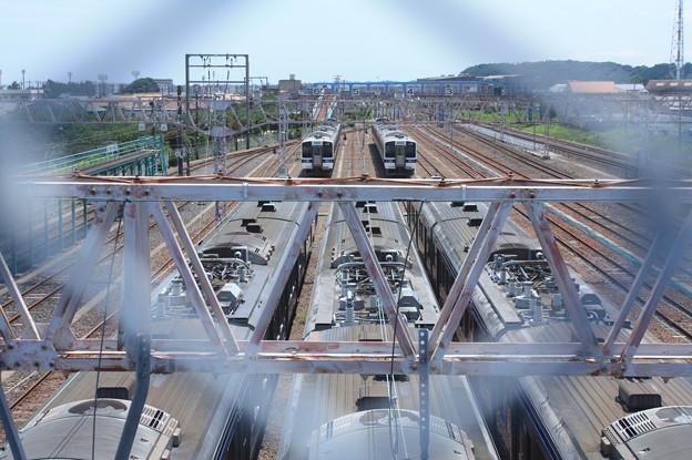 Photos: 高萩駅留置されている415系1500番台 (10)