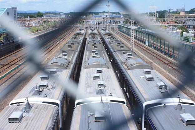 Photos: 高萩駅留置されている415系1500番台 (11)