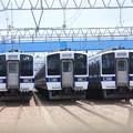 高萩駅留置されている415系1500番台 (16)