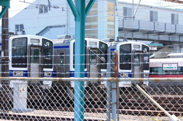 Photos: 高萩駅留置されている415系1500番台 (17)