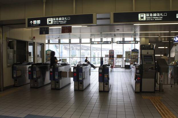 阪急宝塚線 蛍池駅 改札口