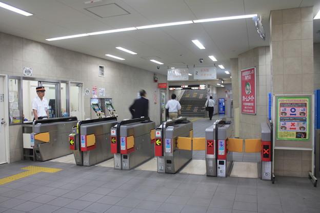 大阪市営地下鉄 西中島南方駅 改札口