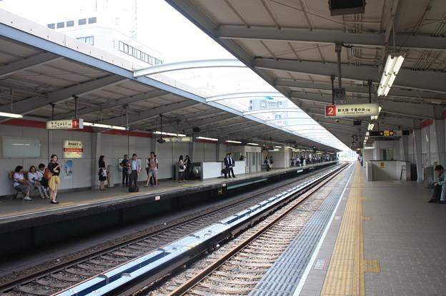 大阪市営地下鉄 西中島南方駅 ホーム