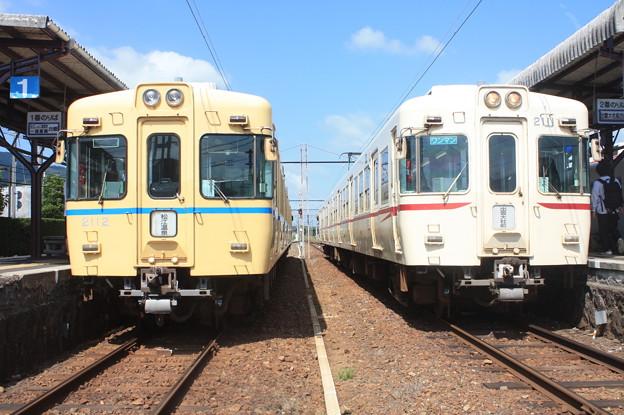 一畑電鉄2100系2102F・2101F