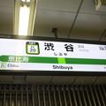 Photos: 山手線 渋谷駅 駅名標