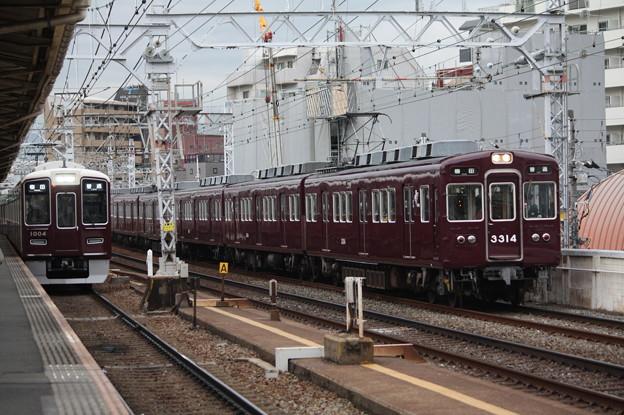 阪急京都線 3300系3314F