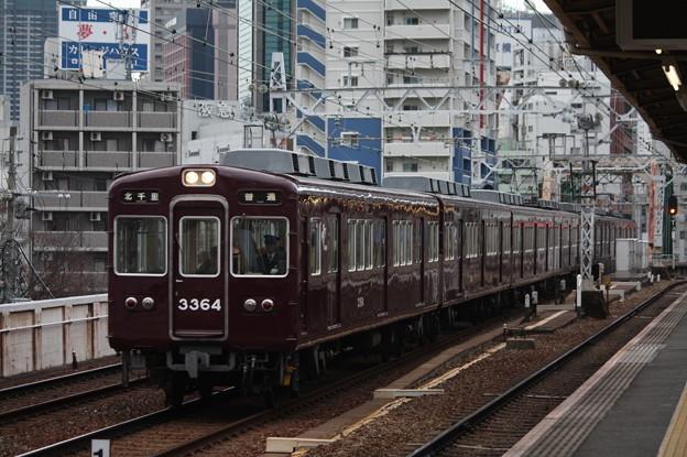 阪急京都線 3300系3364F