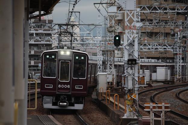 阪急宝塚線 8000系8006F