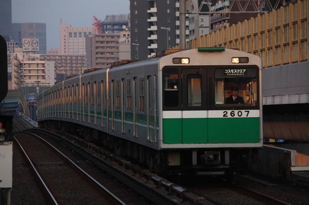 大阪市営地下鉄中央線 20系2607F