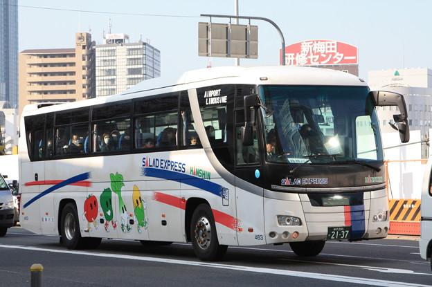 阪神バス 463号車