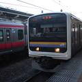 内房線 209系2000番台マリC417編成
