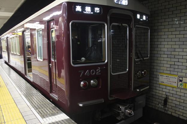 阪急千里線 7300系7322F