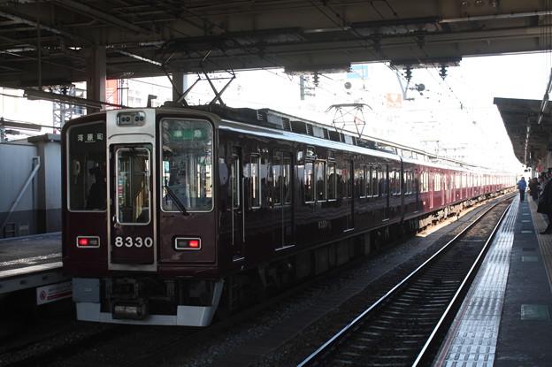 阪急京都線 8300系8330F