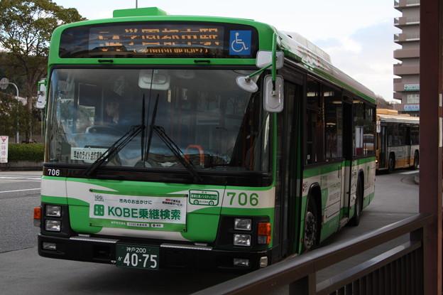 神戸市営バス 706号車