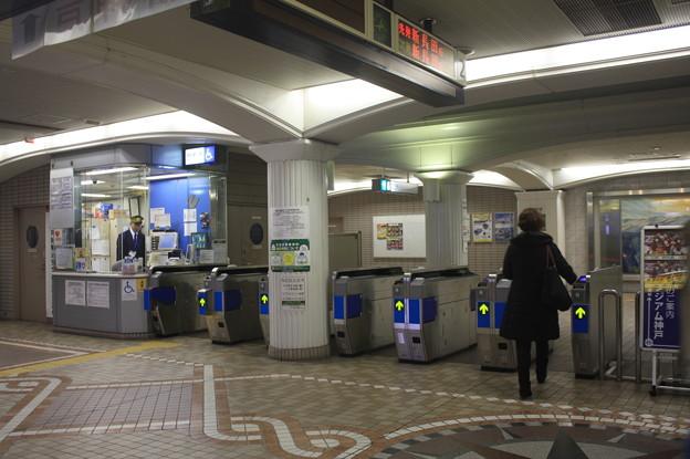 神戸市営地下鉄三宮・花時計前駅 改札口