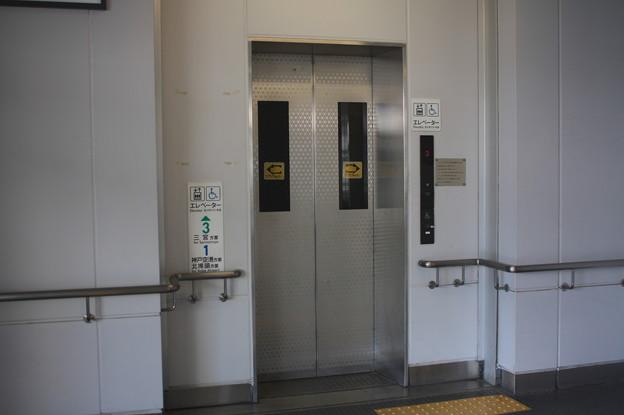 神戸新交通ポートライナー 中公園駅 ホーム エレベーター