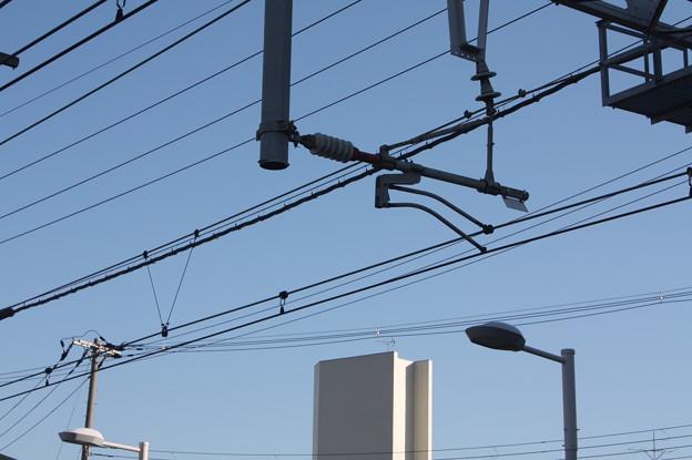 阪急京都線 十三駅 架線