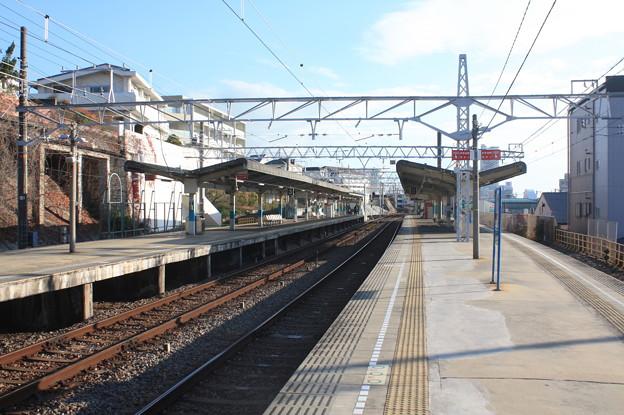 山陽須磨駅 ホーム全景