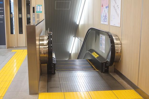 水戸駅エスカレーター