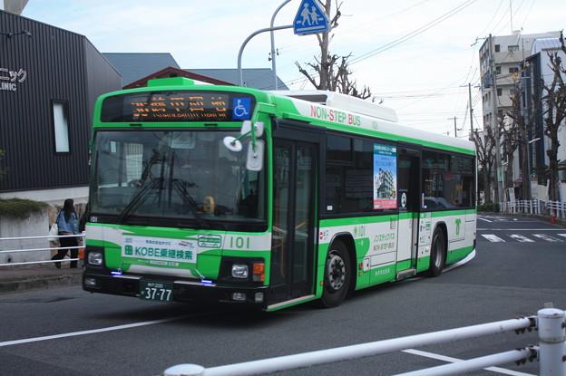 神戸市営バス 101号車 36系統