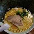 横浜ラーメン壱福家 味噌ラーメン 海苔トッピング