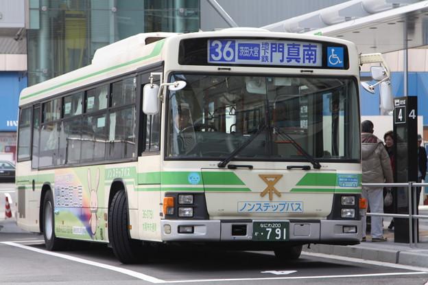 大阪市営バス 36-0791号車